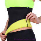 CA Hot Slimming Belt Waist Cincher Trainer Body Burn Fat Sports Shaper S-2XL TB3