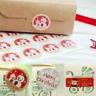 Christmas Xmas Seal Label Greeting Cards Envelopes Scrapbook Stickers Party Gift