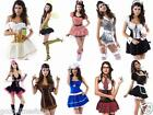 Ladies School Girl Police Maid Beer Bridal Pirate Royal Indian Sailor Costumes