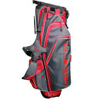 Cobra X Lite Golf Carry Stand Bag Grey/Red + Royal Blue/Black Ultra Light Gift