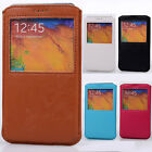 Deluxe PU leather UNIQUE Pouch Case cover skin for Samsung GALAXY Note 3 N9000
