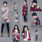 2015 New Women Checked Plaid Scarf Grids Large Tartan Wrap Shawl Stole Pashmina