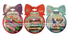 SMACKER^ 4pc Set HOLIDAY Bubble Face ORNAMENT FILLED Lip Balm/Gloss *YOU CHOOSE*