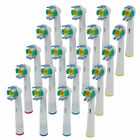 SALE Electric Tooth brush Heads for Braun Oral-B 3D WHITE PRO BRIGHT FLR-EB-18A