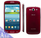 Samsung Galaxy S3 SGH-I747 16GB - AT&T - Red - Great Condition