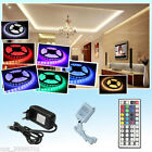 1-10m LED RGB 5050 30/60 LEDs Streifen Strip Lichterkette Leiste+ IR +Trafo