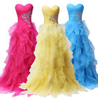 New Quinceanera Dress Formal Gowns Bridesmaid Prom Party Pageant Wedding Dresses