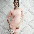 Sexy Womens Lash Lace Bodycon Slim Prom Party Evening Casual Cocktail Mini Dress