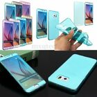 Slim Flip TPU Gel Silicone WRAP UP Case Cover For Samsung Galaxy S6 Edge+/Note 5