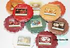 YANKEE CANDLE TART MELT ** AMAZING SCENTS ** Gingerbread Maple Christmas & More