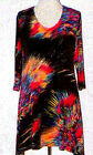 Valentina Tunic TopMulti Colored  Style 11100 1 Studed Polly NWT  Size Small