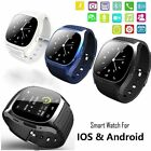 Hot M26 Bluetooth Smart Wrist Watch Phone Mate For Android Smartphone
