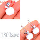 Awesome Pink or White Opal Earring+ Pendant Jewelry Set 925 Sterling Silver s107