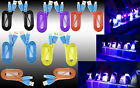 Premium Smiley LED Heavy Duty Data Sync Charging Flat Cable Cord For Cell Phones