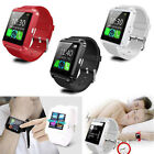 Mens Wrist Smart Watch Phone Mate Bluetooth For Android IOS Samsung LG HTC