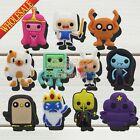 Mixed 100PCS Adventure Time PVC Shoe Charms for jibz,Shoe Accessories Kids Gifts