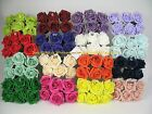 36 or 72 x 6 cm Colourfast Artificial Foam Rose. Wedding Craft Flowers Brides