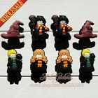 Hot 100pcs Harry Potter PVC Shoe Charms Shoe Accessories For Bands Kids Gifts