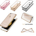 Premium Ultra Slim Electroplate Plating TPU Soft bumper Cases for iPhone 6 6S