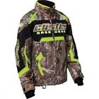 Castle X Youth Girls Bolt G3 Realtree Xtra Hi-Vis Snowmobile Jacket size S-L