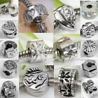 LOT 5PC Clasp Clip Lock Spacer Stopper European Charm Beads fit Snake Bracelet