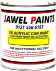 2K Acrylic Car Paint VW Colours, Select Size And Colour