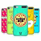 HEAD CASE DESIGNS FOREVER PIZZA COVER RETRO RIGIDA PER APPLE iPOD TOUCH MP3