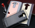New Luxury TPU Ultra-thin Mirror Soft Case Transparen Cover For LG G3 G4 V10