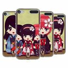 HEAD CASE DESIGNS RAGAZZE KIMONO COVER MORBIDA IN GEL PER APPLE iPOD TOUCH MP3