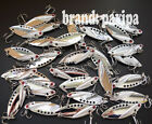Lot Metal VIB Spoon Fishing Lures Bass Bait 5cm / 2inch 10g