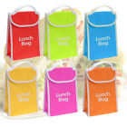 KIDS OFFICE STORAGE INSULATED COOLER LUNCH BAG FRESH DRINKS FOOD PORTABLE SCHOOL