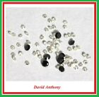 1 x Loose REAL BRILLIANT CUT DIAMOND. WHITE 1.15mm to 1.20mm or BLACK 2mm. DIA 1Natural Diamonds - 3824