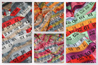 Tape Measure Sewing Print Cotton Poplin Fabric (CP0192-M)