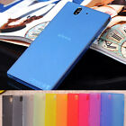 Ultra thin slim purtable frosted matte Case Cover skin for Sony Xperia Mobile