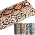 Vivid animal skin special Snake printed unique PC Case cover for iPhone 5 5G 5S