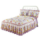 Collections Etc Bellamy Quilt-Top Butterfly Bedspread