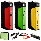 58800mAh rubber Jump Starter Car Emergency Charger Battery Booster Power Bank