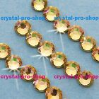 GENUINE Swarovski Luminous Green (LUMG) Crystal (No hotfix) Flatback Rhinestone