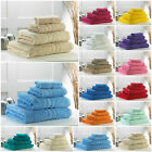 Egyptian Cotton Towels Face Hand Bath Sheet Combed Bale Sets 4 6 7 10 Piece Bale