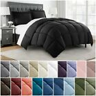 Chezmoi Collection Super Soft Down Alternative Comforter Set, Twin, Queen, king