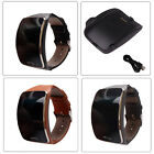 Genuine Leather Replacement Wristband+Charger For Samsung Galaxy Gear S SM-R750