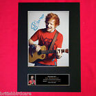 ED SHEERAN No2 Mounted Signed Photo Reproduction Autograph Print A4 80