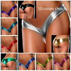 Seduce Lady Thongs G-string Panties Briefs Bikini Leather Lingerie Underwear
