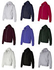 Hanes Men's Size S-XL, 2XL, 3XL, p180, XXL, XXXL, Full Zip-Up Hooded Sweatshirt