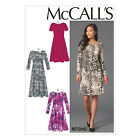 McCall's 7240 Sewing Pattern to MAKE Pullover Stretch Dresses w/Sleeve Variation