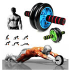 Abs Abdominal Exercise Wheel Fitness Stomach Cruncher Strength Training Roller