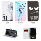 """Wallet PU Leather Stand Flip Magnet Card Slot Case Cover For Wiko Fever 4G 5.2"""""""
