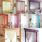 Decor Tassel String Curtain Window Divider Patio Net Fringe Door Fly Screen