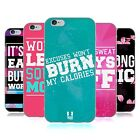 HEAD CASE DESIGNS FITNESS JUNKIE SOFT GEL CASE FOR APPLE iPHONE PHONES