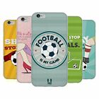 HEAD CASE DESIGNS FOOTBALL STATEMENTS SOFT GEL CASE FOR APPLE iPHONE PHONES